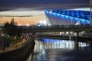 Olympic Park, Aquadrome at Dusk